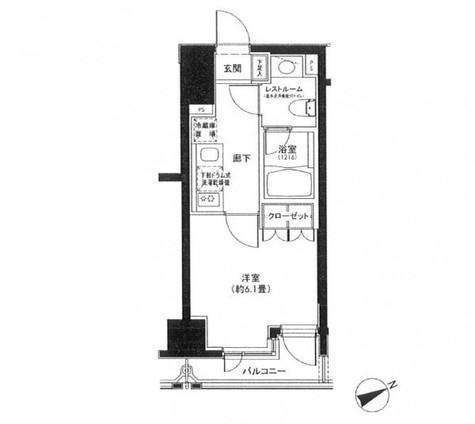 カスタリア日本橋 / 9階 部屋画像1