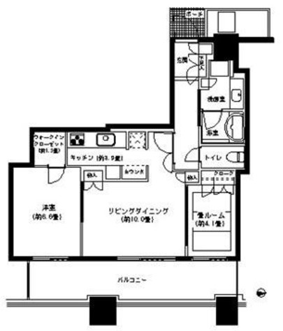 パークタワー横浜ステーションプレミア / 710 部屋画像1