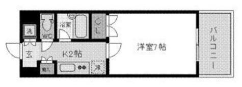 岩本町 4分マンション / 7階 部屋画像1