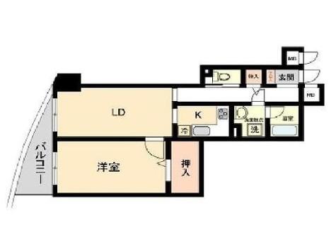 HF白山レジデンス(旧レジデンス向丘) / 8階 部屋画像1