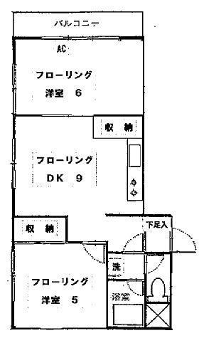 ルシェール・ハル / 2階 部屋画像1