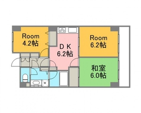 レジディア芝浦(旧パシフィックレジデンス芝浦) / 605 部屋画像1