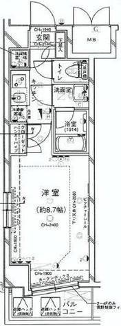 パレステュディオ三田 / 306 部屋画像1