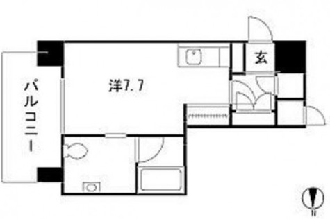 ストーリア白金台 / 2階 部屋画像1