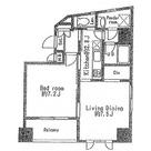 ププレMIYA八丁堀 / 8階 部屋画像1
