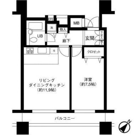 LOOP-M【ループエム】 / 11階 部屋画像1