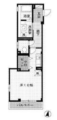 メゾンテラ / 206 部屋画像1