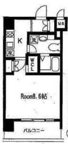 アーデン麻布十番 / 603 部屋画像1