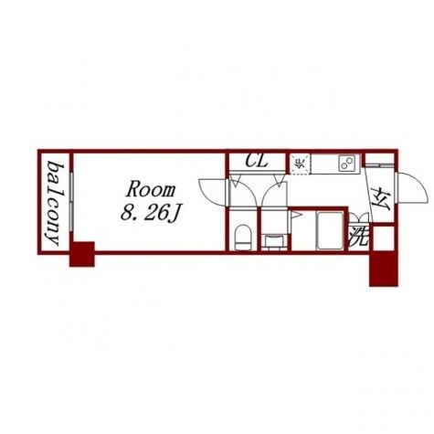 シルフィード東品川 / 4階 部屋画像1