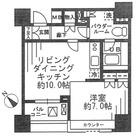 レジディア勝どき【旧:コスモグラシア勝どき】 / 203 部屋画像1