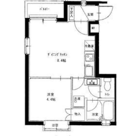 オリーブハウス / 201 部屋画像1