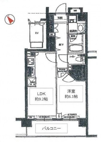 ルピナス用賀 / 604 部屋画像1