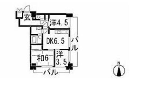 ダイアパレス新宿一丁目 / 3階 部屋画像1