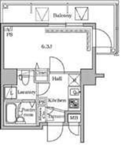 レジディア広尾Ⅱ / 906 部屋画像1