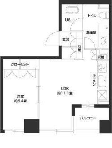 パークキューブ銀座イースト / 702 部屋画像1