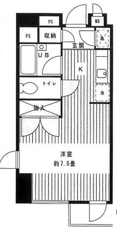 グリーン江戸川橋 / 303 部屋画像1