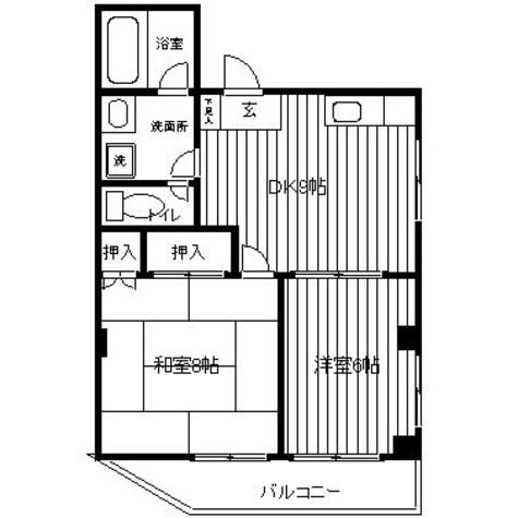 アルファパレス / 301 部屋画像1