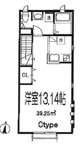 セレッソ目黒洗足 / 2階 部屋画像1