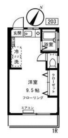 S-pal yoyogi (エスパルヨヨギ) / 2階 部屋画像1