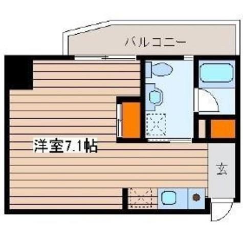 みかん館 / 5階 部屋画像1