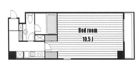 フォーシム麻布十番 / 2階 部屋画像1