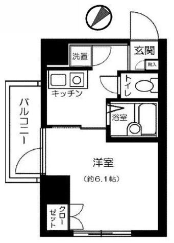 エクセリア白金高輪 / 4階 部屋画像1