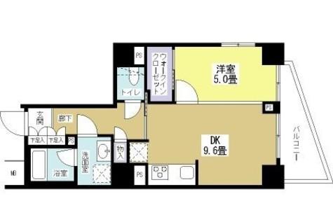 パークヴィスタ日本橋浜町 / 9階 部屋画像1