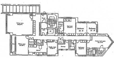 麻布十番 8分マンション / 2階 部屋画像1