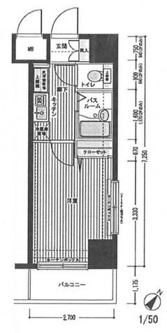 トーシンフェニックス日本橋三越前 / 1104 部屋画像1