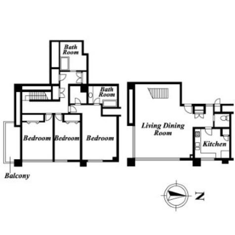 パレロワイヤル原宿 / 1階 部屋画像1