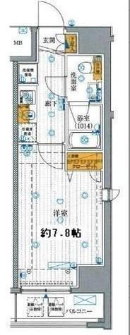 プレール・ドゥーク有明 / 6階 部屋画像1