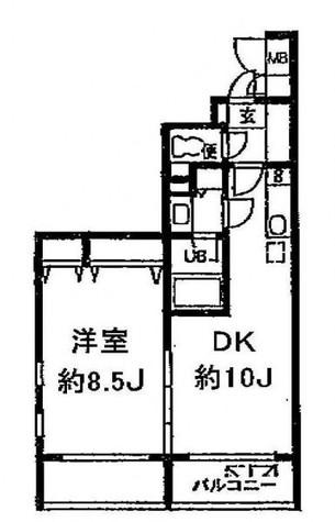 アーデン目黒通り(旧ミルーム目黒通り) / 5階 部屋画像1