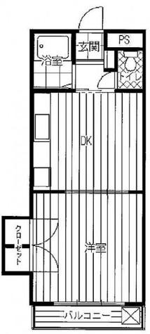 プレール都立大 / 1階 部屋画像1
