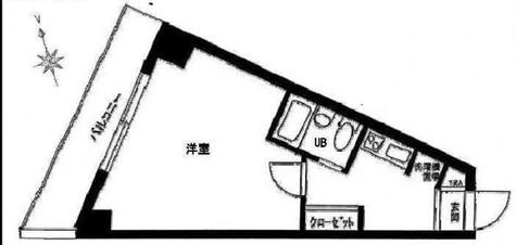 スカイコート恵比寿 / 5階 部屋画像1