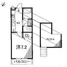 クレール目黒(3-10-21) / 205 部屋画像1