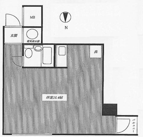 代々木シティホームズ / 804 部屋画像1