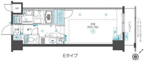 フェニックス新横濱クアトロ / 10階 部屋画像1