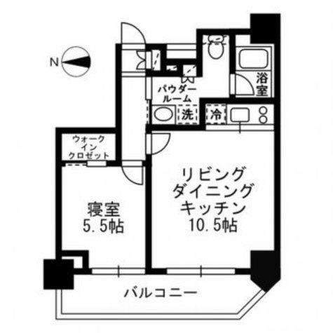レジディア文京湯島Ⅲ / 10階 部屋画像1
