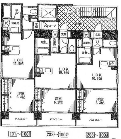 ラキャリラット日本橋 / 3階 部屋画像1