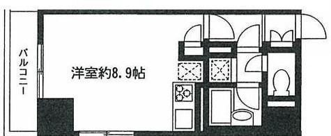 ダイヤモンドレジデンス勝どき / 4階 部屋画像1