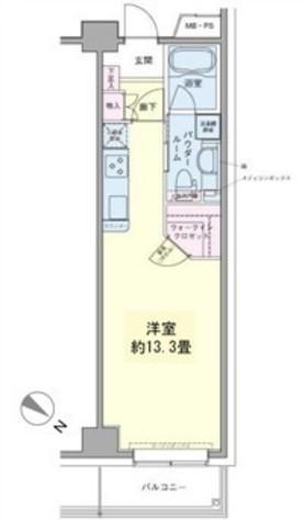 エコロジー豊洲プロセンチュリー / 3階 部屋画像1