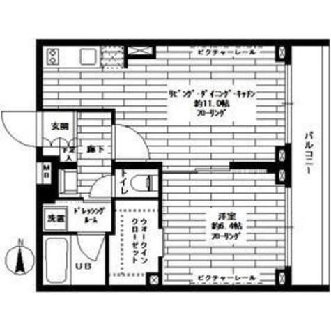 ステージファースト西大井一番館 / 4階 部屋画像1