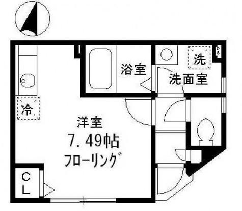 マ・メゾン・クレフ / 1階 部屋画像1