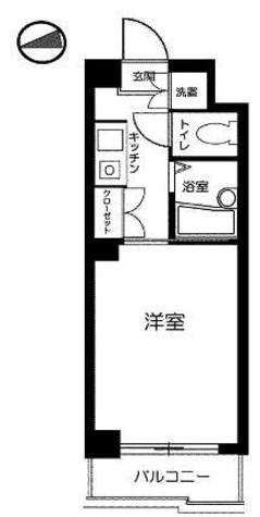 ルーブル世田谷 / 3階 部屋画像1