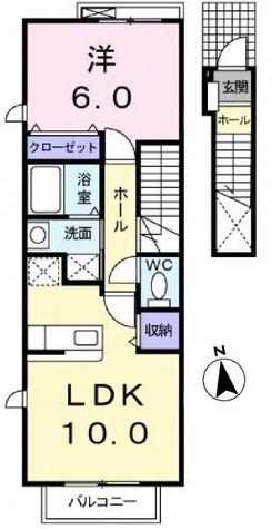 ノーブル・キタオオジ / 202 部屋画像1