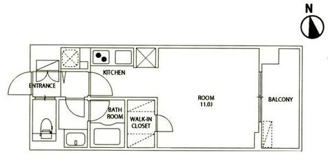 レジディア大井町Ⅱ(旧パシフィックレジデンス大井町Ⅰ) / 6階 部屋画像1