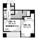 COMODO水天宮レジデンス(秀和水天宮レジデンス) / 908 部屋画像1