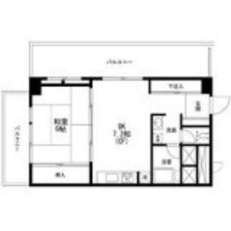 秀和恵比寿レジデンス / 7階 部屋画像1