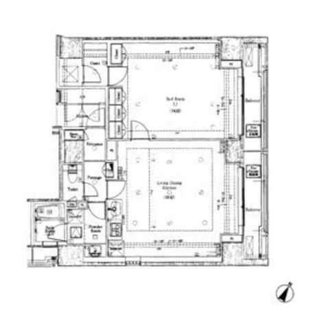 moderno torre sho-to(モデルノ トッレ松濤) / 1601 部屋画像1