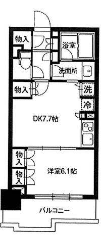 レジディア御茶ノ水 / 4階 部屋画像1